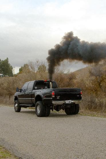 ford diesel blowin smoke picture 1