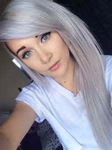 is it possible to color my hair silver picture 1