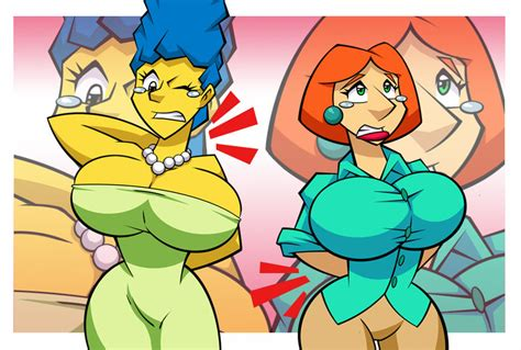 read simpsons marge breast expansion picture 2