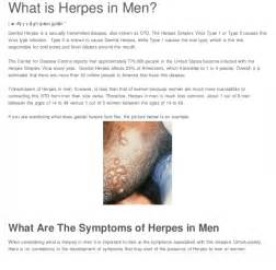 herpes symptoms in men picture 9