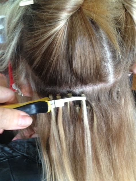 clamping in hair extensions picture 2