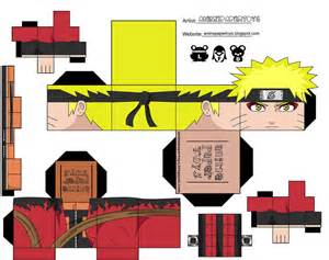 anime paper toys picture 1