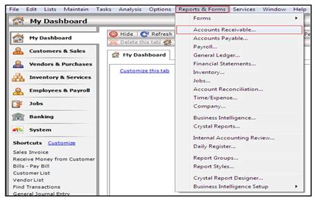 peachtree accounts receivable aging picture 2