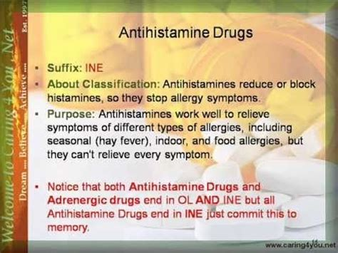 antihistamine and thyroid meds picture 1