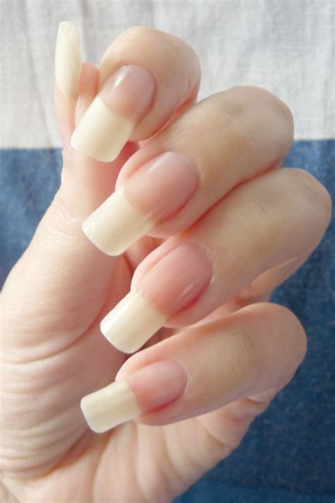 long natural nails insertion picture 1