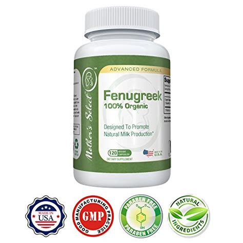 fenugreek capsules for breastfeeding picture 1