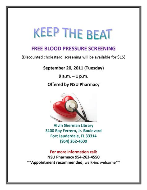 free blood pressure screening picture 2