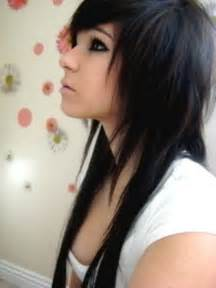 emo girl long hair picture 1
