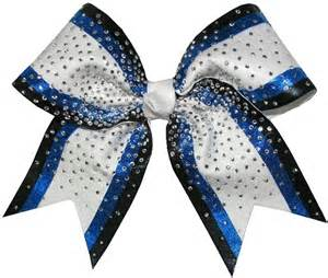 cheerleading hair ribbon picture 10