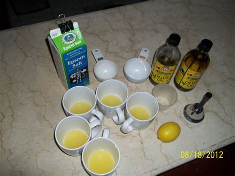 Virgin olive oil and epson salt colon cleanses picture 9