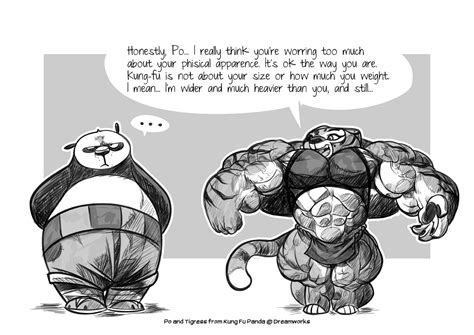 tigress muscle growth stories fanfiction picture 5