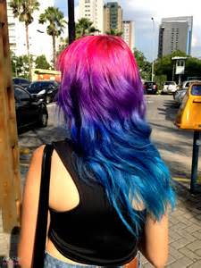 wild colored hair picture 7