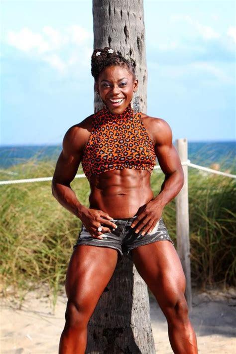 black muscle women girls picture 6