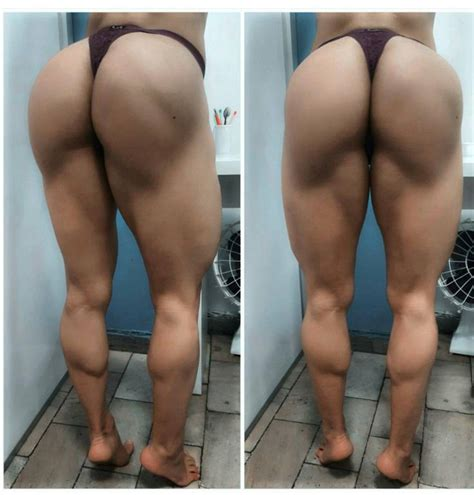 female muscle calves picture 2