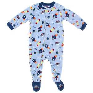 footed sleeper and lightweight and green and boys picture 10