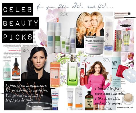 celebs skin care products picture 1