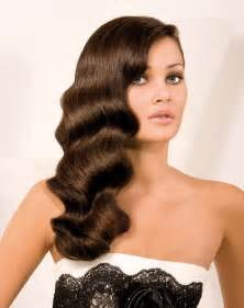 smooth sleek sexy glam prom hair picture 3