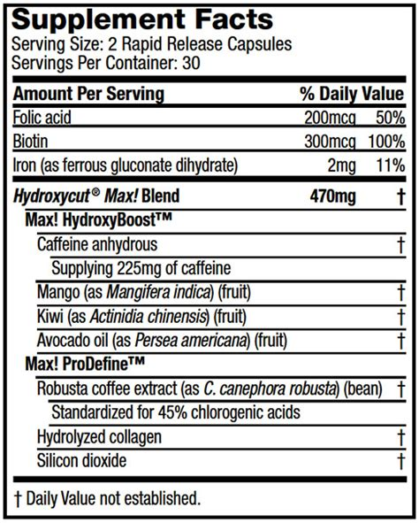 hydroxycut facts picture 5