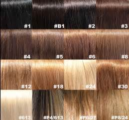 brown hair color charts picture 7