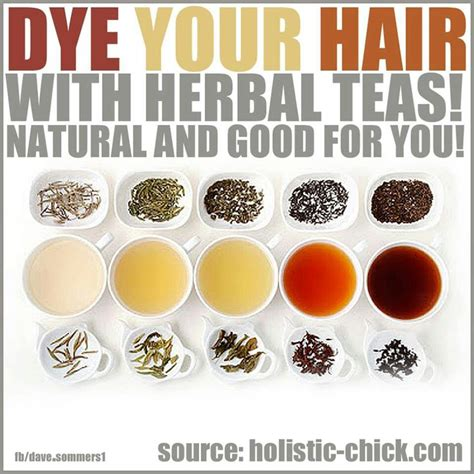 color gray hair with tea picture 1