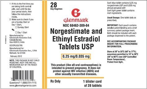 norgestimate / ethinyl estradiol picture 1