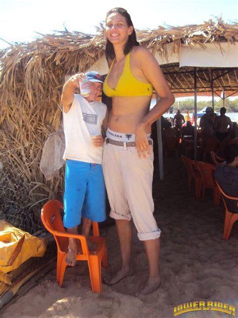 giantess big tall woman vs small man picture 4
