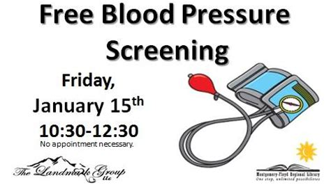 free blood pressure screening picture 15