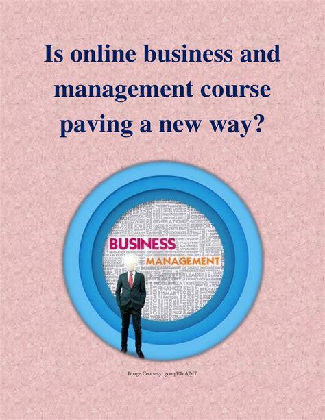 online business management course picture 2