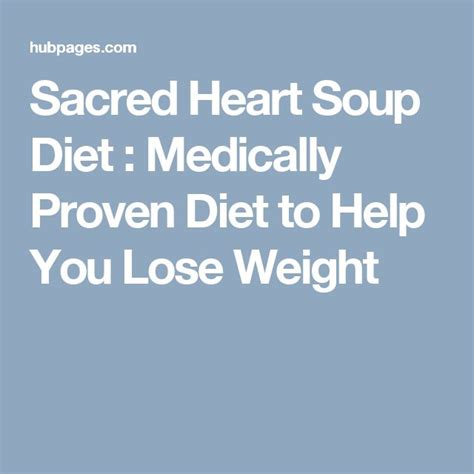 sacred heart diet soup picture 1
