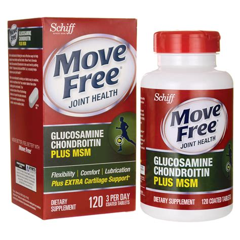 move free joint health, glucosamine chondroitin advanced plus picture 8