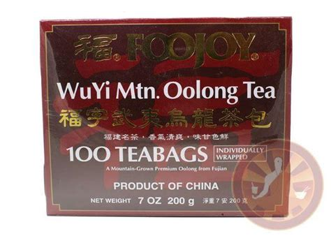 wuyi foojoy oolong weight loss tea wulong real picture 1
