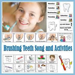 brushing teeth song and preschool picture 2