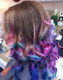 curly hair hilights picture 11