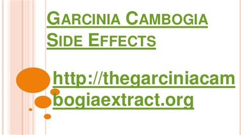 gambia cambogia side effects picture 6