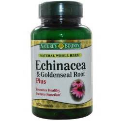 natures bounty echinacea & goldenseal root plus reviews picture 1
