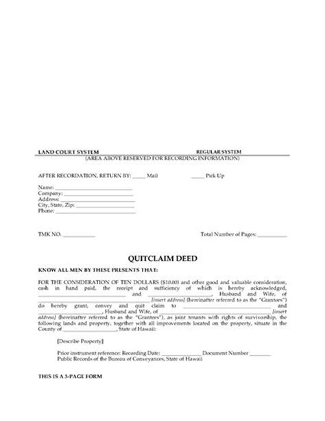 quit deed with joint tenancy georgia picture 20