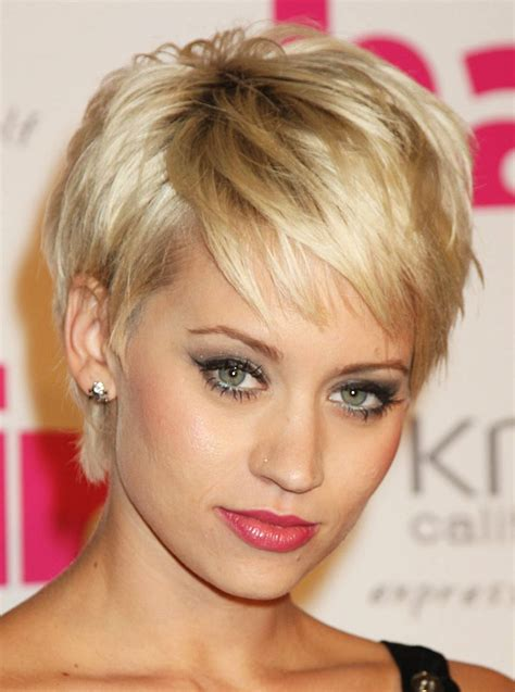celebrity short hair styles picture 10
