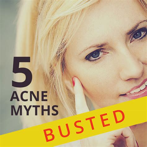 myths about acne picture 3