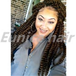 2 strand twists with synthetic hair picture 11