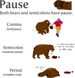 Colon and semi colon usage picture 2