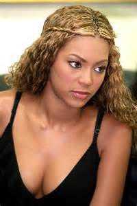 beyonce real hair picture 1