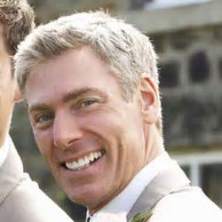 men's short grey hair picture 1