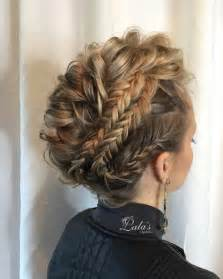 prom hairstyles medium length hair picture 2