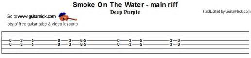 guitar tabs to smoke on the water picture 3