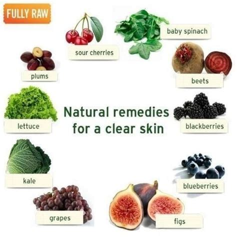 foods for a clear skin picture 2