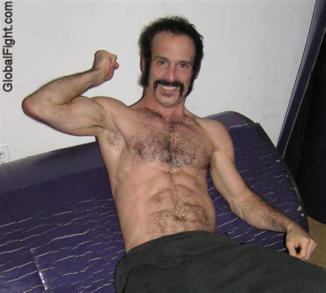 wrestling hair men picture 17