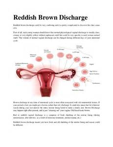 brown vaginal discharge during detox picture 3
