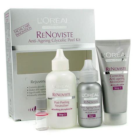 dermo-expertise re noviste anti-ageing glycolic peeling kit picture 1
