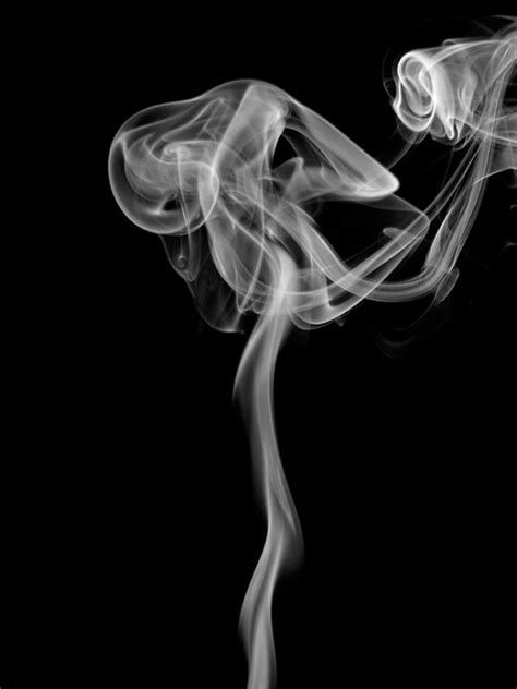 woman in cloud of cigarette smoke picture 5