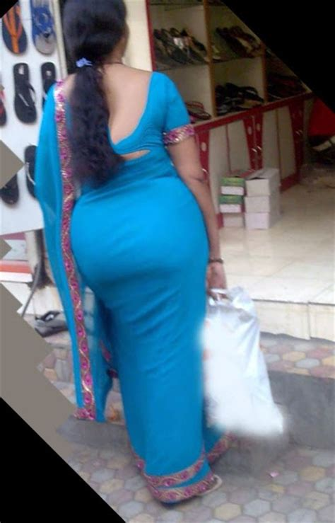 aunty in sarees back view with big gaand picture 11